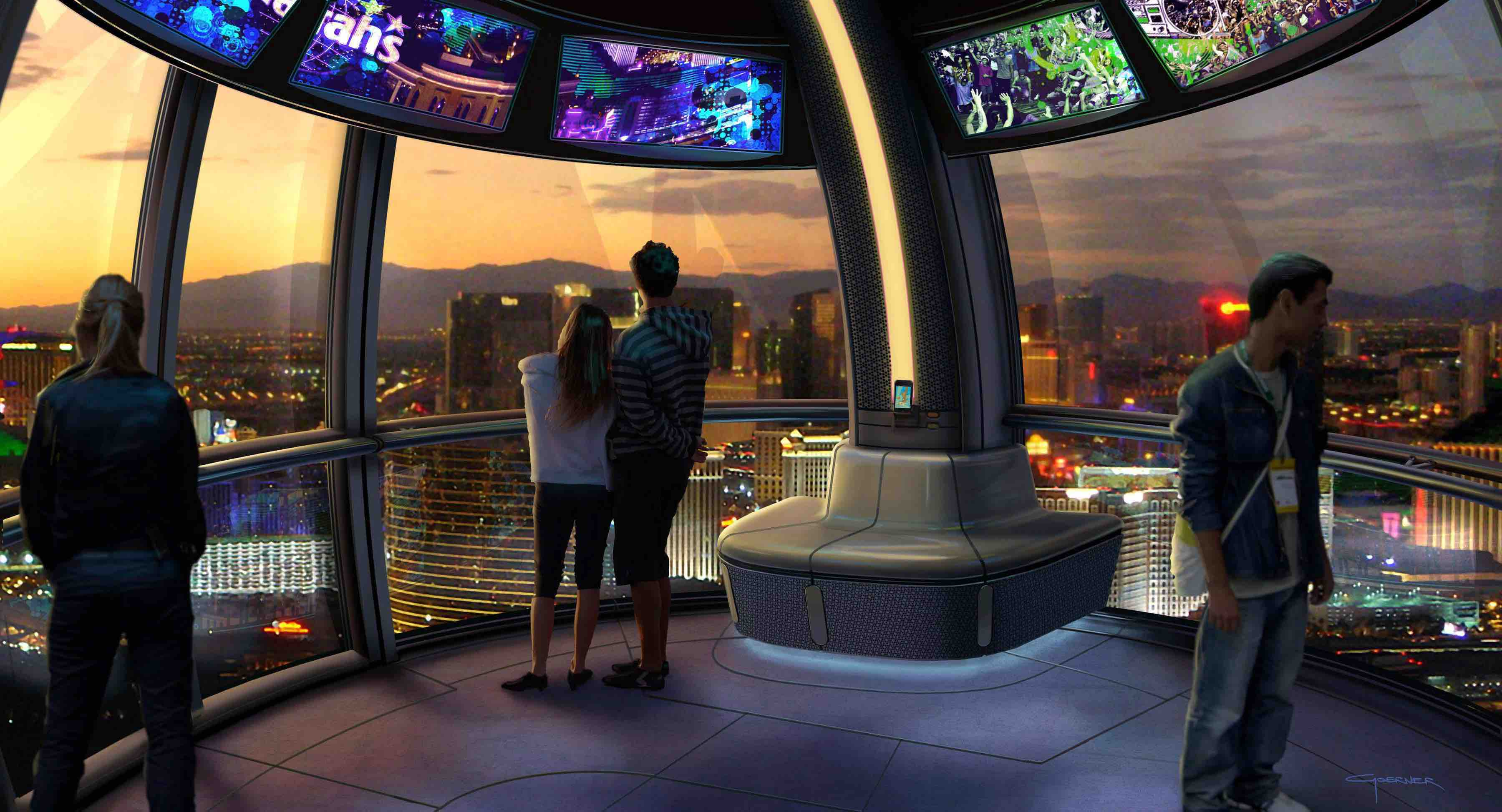 Dreamers Perform Inside The High Roller Cabin