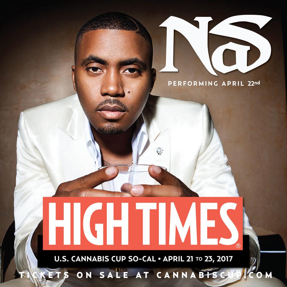 Nas | High Times Magazine US Cannabis Cup So Cal 2017
