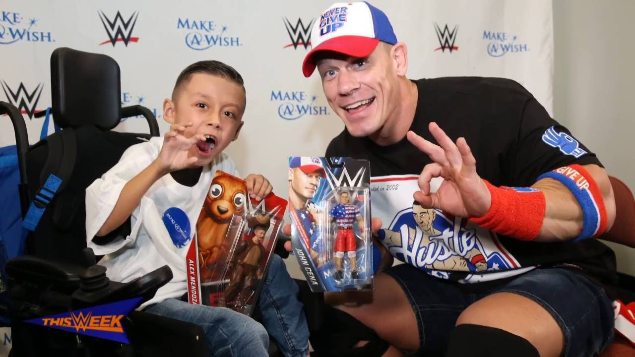 John Cena Action Figure Make A Wish Foundation