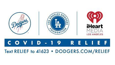 Dodgers, Dodgers Foundation & iHeart Media Logos