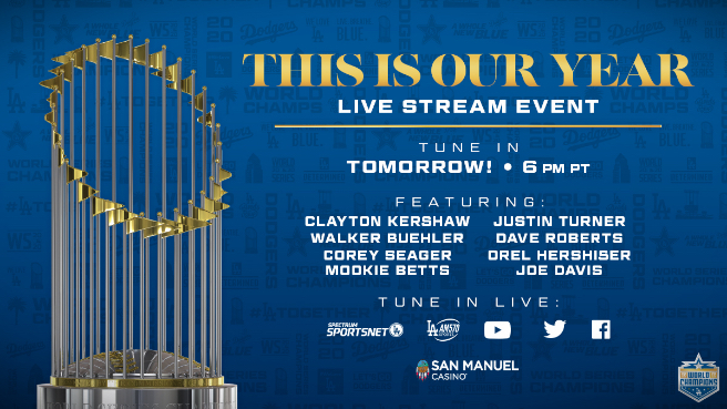 Los Angeles Dodgers This Is Our Year event image