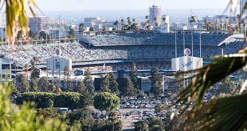 Dodger stadium image