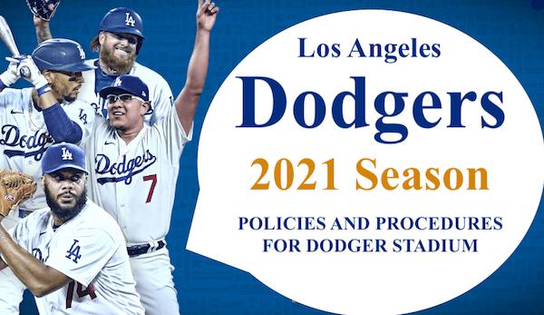 Los Angeles Dodgers 2021 season image