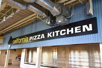 The California Pizza Kitchen at Dodger Stadium.