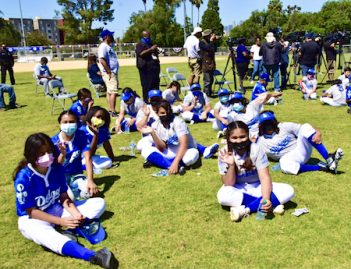 Dodgers RBI players at Lincoln Park