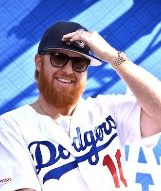 Dodger player, Justin Turner